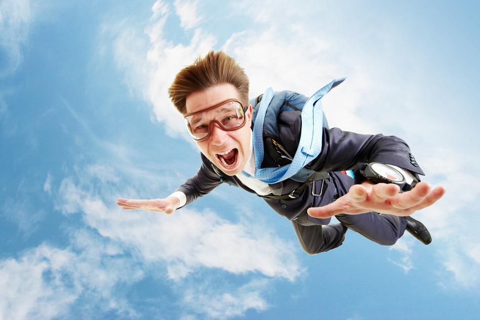 In Flight Man